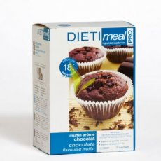 DIETIMEAL Chocolade Muffin - magnetron